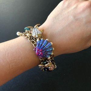 Betsey Johnson Under the Sea Custer Bracelet